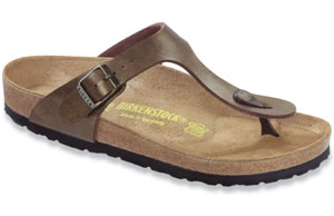 Birkenstock  Golden Brown Birko-Flor  Gizeh