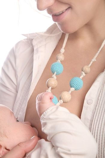 Teething Necklace.. Choose your color.