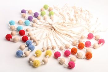 Teething Necklace.. Choose your color.-1